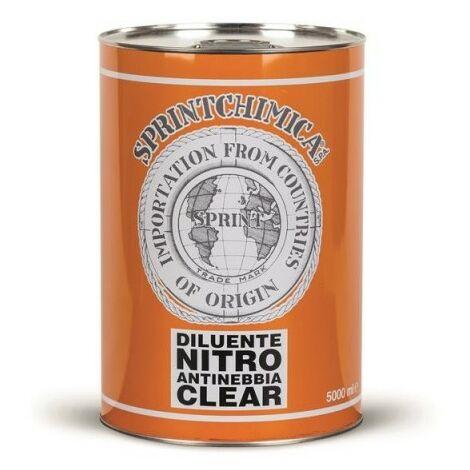 Diluente nitro antinebbia clear