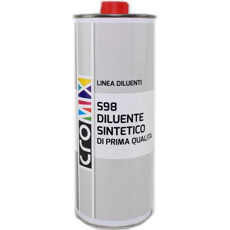 Diluente sintetico litri 1 baldini vernici solvente per vernici colori