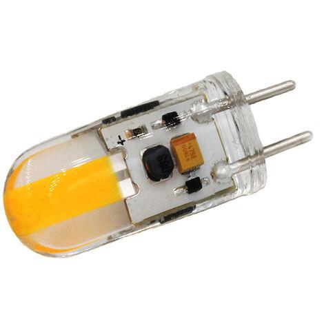 Dimmable Gy6.35 Led Lamp, Ampoule Led Cob En Silicone 12V Dc, 3W - Plusieurs couleurs sont disponibles