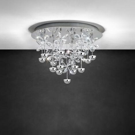 Dimmbare LED Deckenleuchte Pianopoli, 500 Mm EEK A+ [Spektrum A++ Bis E]