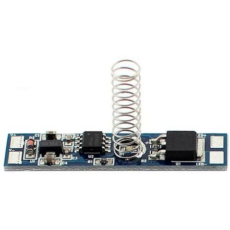 Dimmer Blue Touch Memory 46x8mm para tiras monocolor