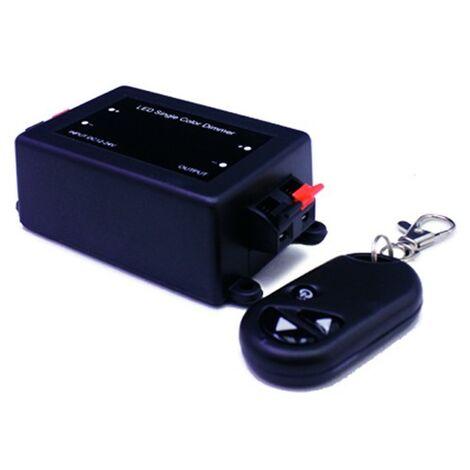 Dimmer para tira led mx.96/192W 8A DC12/24V + mando RF