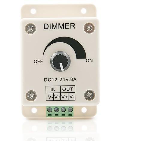 Dimmer Tira LED 12-24VDC ► 96/192W (TB-T1)