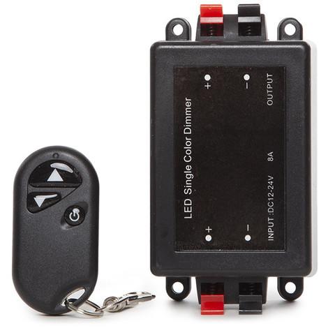 Dimmer Tira LED Mando a Distancia 12-24VDC ► 96/192W (TB-RF-T1)