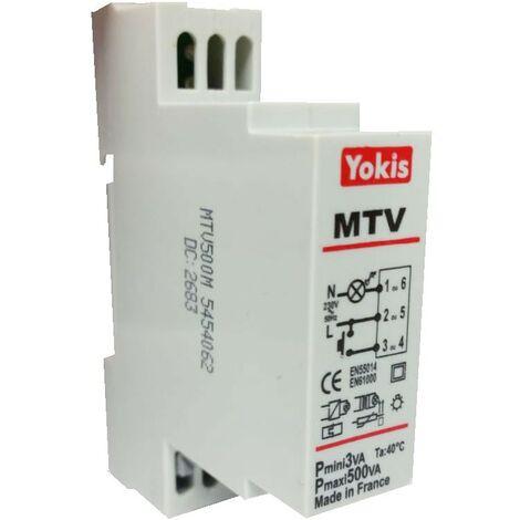 Dimmer Urmet Yokis MTV500M DIN 5454062