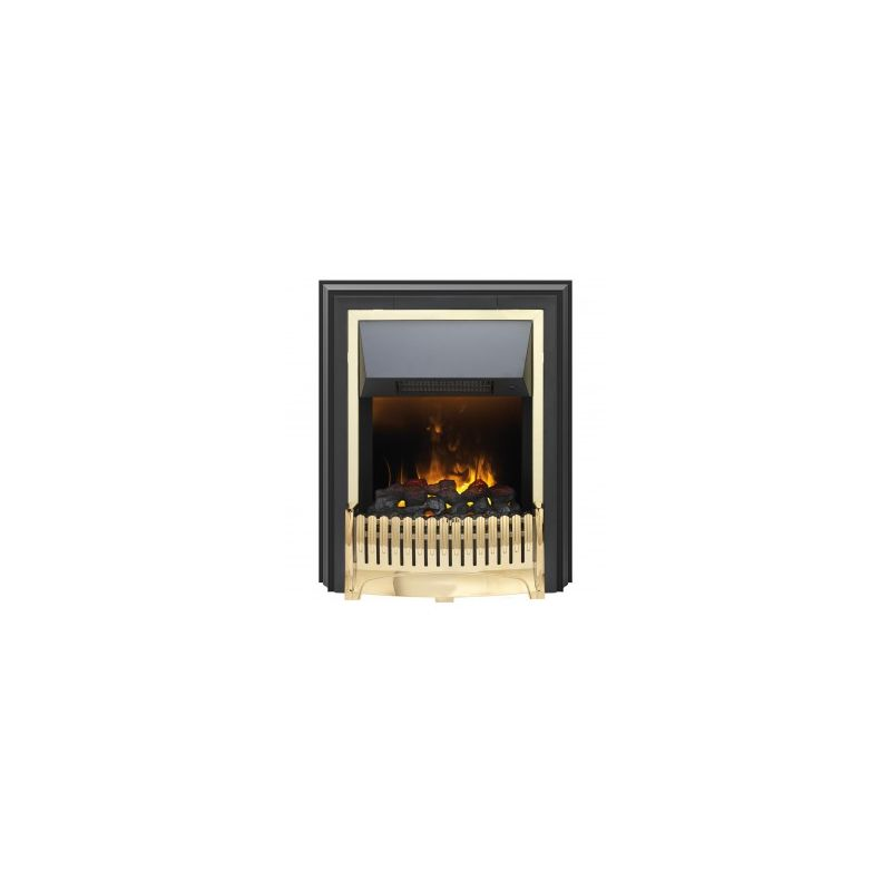 Pleasing Dimplex Ropley Rpl20 Coal Bed Freestanding Fire With Remote Control Brass Home Interior And Landscaping Mentranervesignezvosmurscom