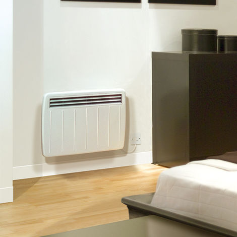 Dimplex Ultra Slim IPX4 Panel Convector Heater With Thermostat 1.25KW (PLX1250)