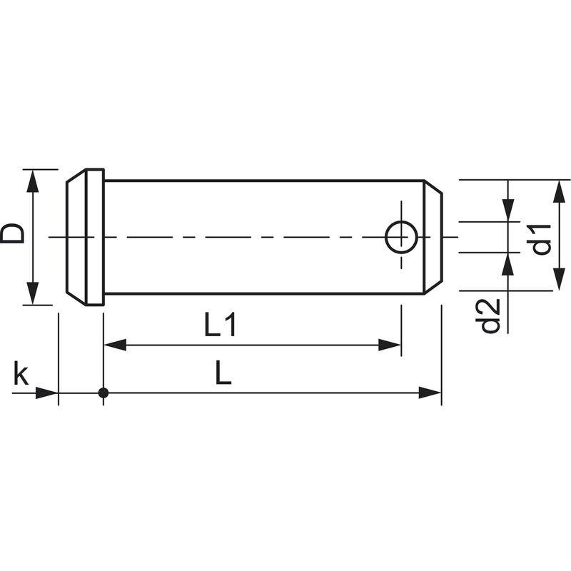 DIN 7337 A /Ähnl Klemmbereich 8,5-10,0mm UNI 9200 A EN ISO 1598 Edelstahl V2A AISI 304 500 St/ück Blindniete Grip Dorn /Ø4mm x 14mm