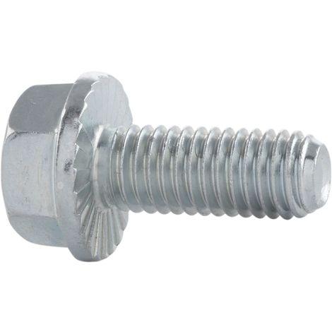 25 Stk Sechskantschraube DIN 933 10.9 M10 x 30