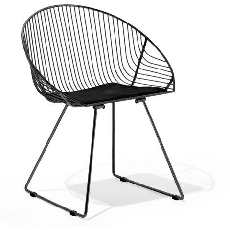 Dining Chair Black AURORA