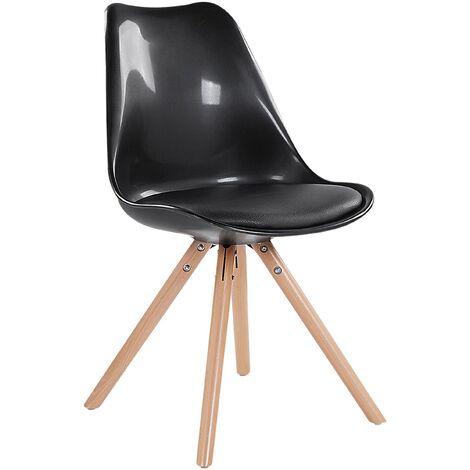 Dining Chair Gloss Black DAKOTA