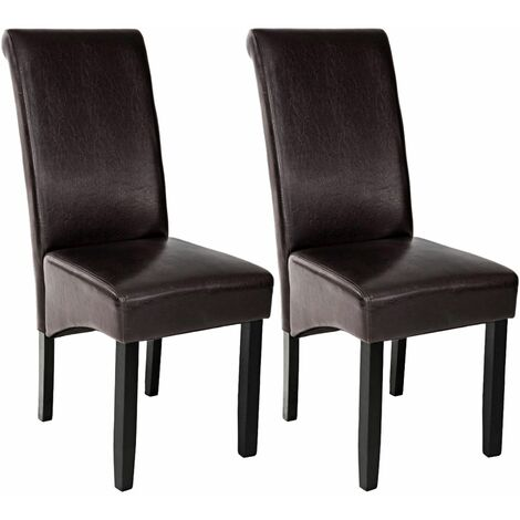 Dining chairs with ergonomic seat shape - dining room chairs, kitchen chairs, dining table chairs
