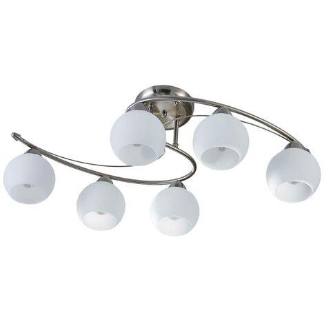 Dining room ceiling light Svean, 6 bulbs