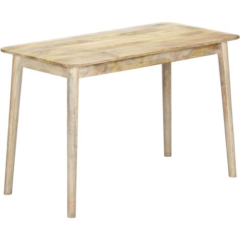 Dining Table 115x60x76 cm Solid Mango Wood