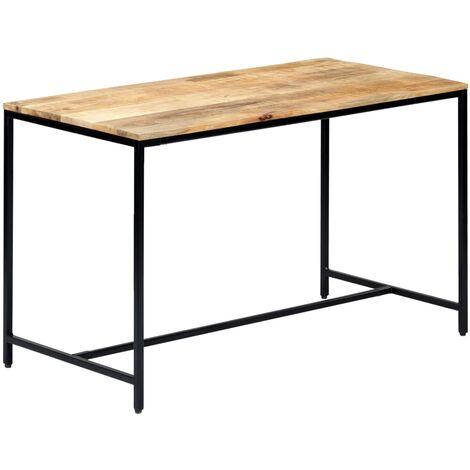 120x60x75 Cm Solid Rough Mango Wood