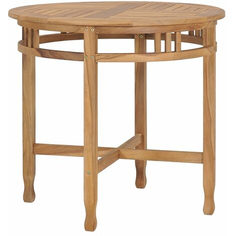 Dining Table ? 80 cm Solid Teak Wood