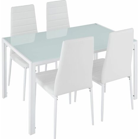 Dining table and chair Set Berlin 4+1 - dining room table and chairs, dining table and 4 chairs, kitchen table and chairs