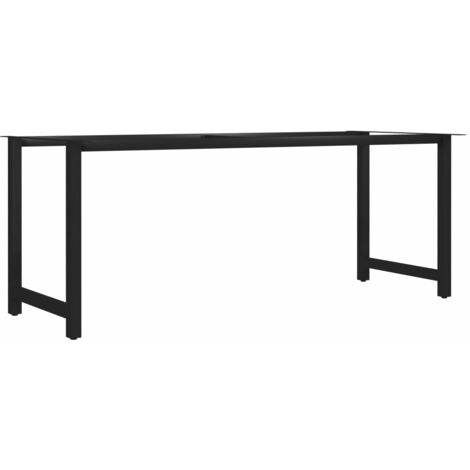 Dining Table Leg H Frame 180x80x72 cm
