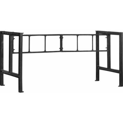 Dining Table Legs 150x68x73 cm Cast Iron