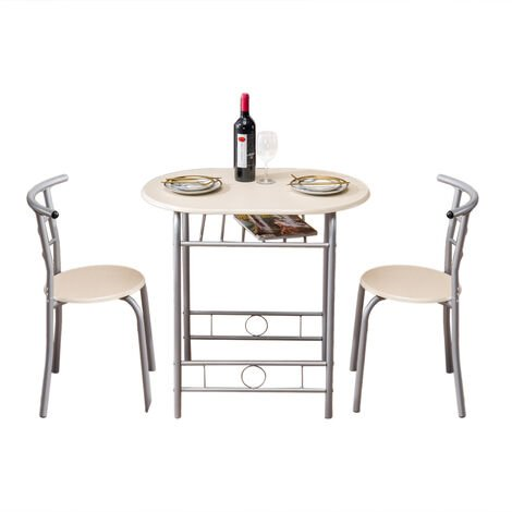 Dinning Table with two chairs Coffee Table Garden Furniture - Different colours