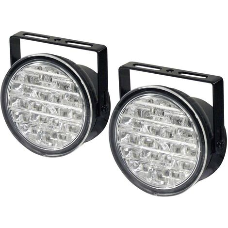 DINO 610795 Tagfahrlicht LED (Ø x T) 90mm x 36mm C34602