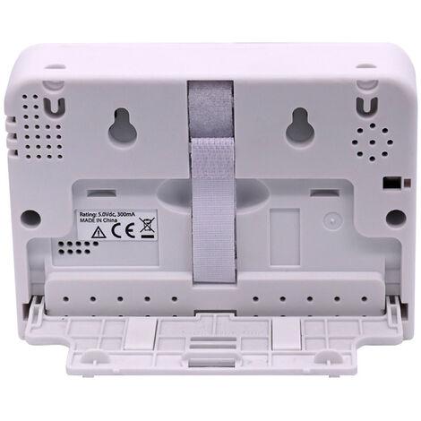 Dioxido de Carbono Detector de escritorio de CO2 / HR / temperatura. Medidor 3-en-1 USB Detector de Calidad del Aire de humedad relativa y temperatura del monitor Monitor de CO2 Tester con los registros de informacion grafico de tendencia del zumbido de a