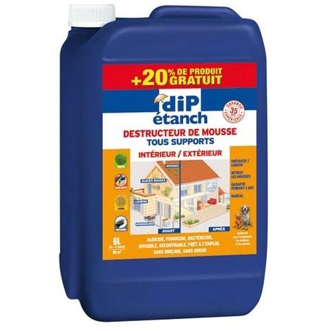 DIP DESTRUCTEUR DE MOUSSE 5L+1L GSB (Vendu par 1)