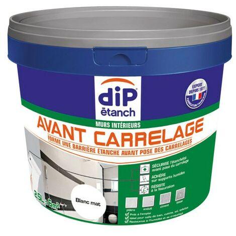 DIP ETANCH AVANT CARRELAGE 2.5L BLC (Vendu par 1)