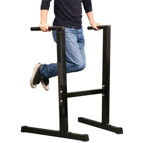 Dip Station Stand Chest Tricep Exercise Workout Station