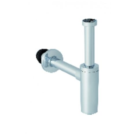 Dip tube siphon for washbasin - GEBERIT : 151.034.21.1