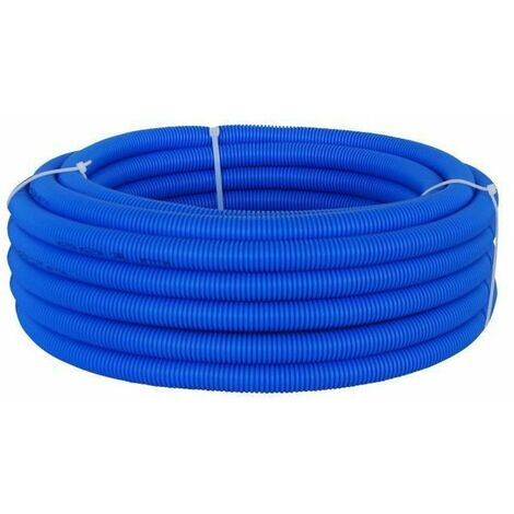 DIPRA Tube PER gainé bleu - Diametre 16 / 15m
