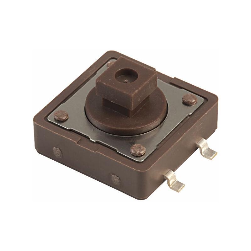 Image of DTSM-24N-B Tact Switch 12 x 12mm Sq 160gf SMT - Diptronics