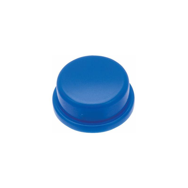 Image of KTSC-22B Blue Button 12 x 12mm Round - Diptronics