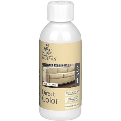 DIRECT COLOR - Recolore le cuir - 250ML SABLE - Les anciens ébénistes
