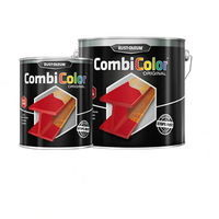 Direct To Metal Black Paint Rust-Oleum CombiColor Hammertone 250ml