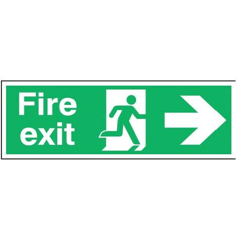 Directional Fire Exit Signs