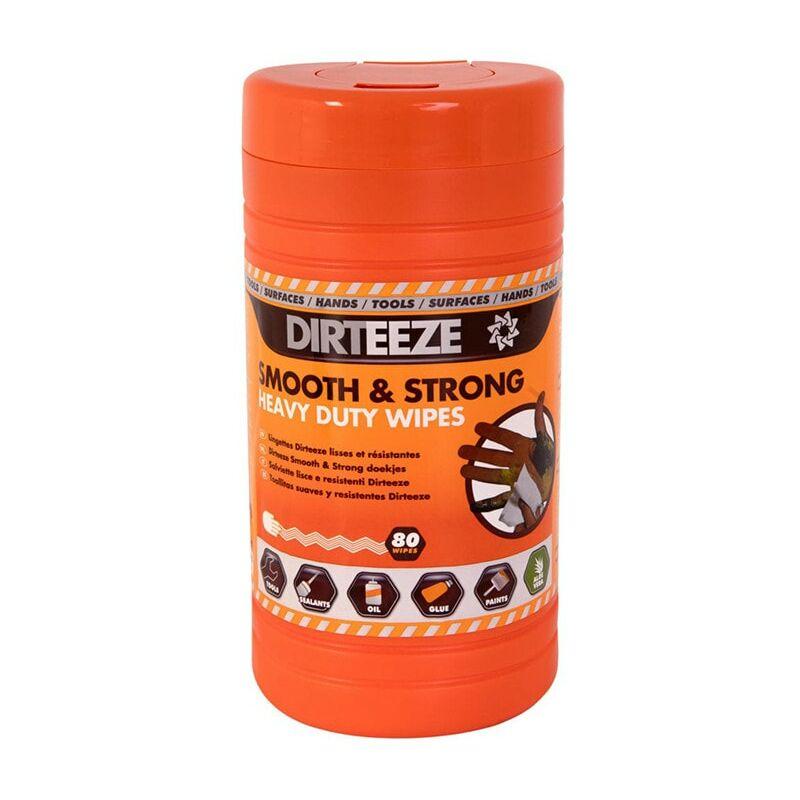 Image of Orange Hand Wipes - Pack of 80 - Dirteeze