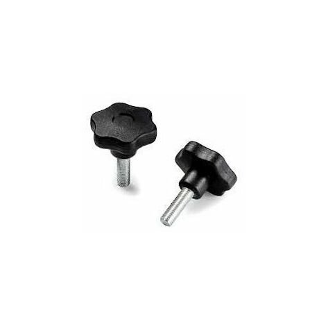 Disc knob Glass-fibre reinforced plastic with threaded rod