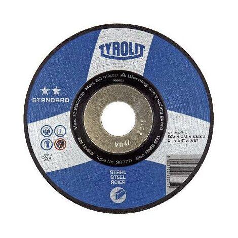 DISCO 27X A24-BF 115X6X22,2 STANDARD - TYROLIT - 367377