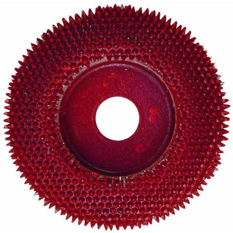 Disco abrasivo con puntas de Widia de carburo de wolframio para LWS Proxxon
