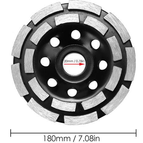 Disco abrasivo de diamante abrasivo, 180mm
