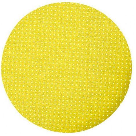 Disco abrasivo de velcro con agujeros de 225 mm p1