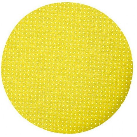 Disco abrasivo de velcro con agujeros de 225 mm p8