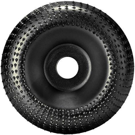 Disco abrasivo rotativo para tallar,Diametro interno de 16 mm, diametro externo de 85 mm, negro