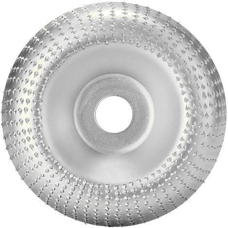 Disco abrasivo rotativo para tallar,Diametro interno de 16 mm, diametro externo de 85 mm, plateado