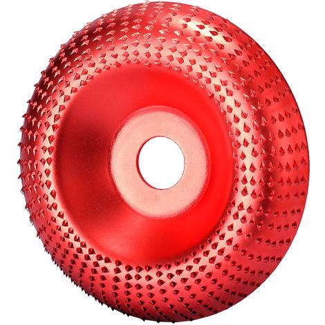 Disco abrasivo rotativo para tallar,Diametro interno de 16 mm, diametro externo de 85 mm, rojo