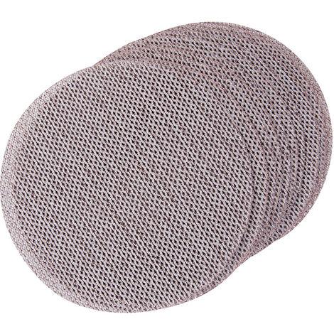 Disco autoadherente con malla abrasiva, 150 mm, 10 pzas Grano 100 - NEOFERR