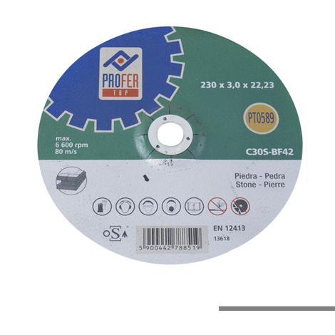 Disco C Piedra Pro - NEOFERR - PT0589 - 230X3 MM..