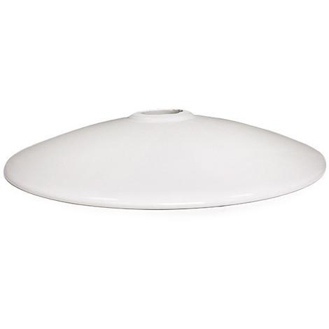 Disco Concavo Cerámica Blanco Ø31Cm (Portalámparas No Incluido) [AM-CA521] (AM-CA521)