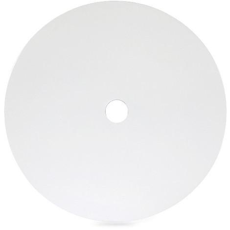 Disco Concavo Metálico Blanco Ø40Cm (Portalámparas No Incluido) [AM-CA501] (AM-CA501)